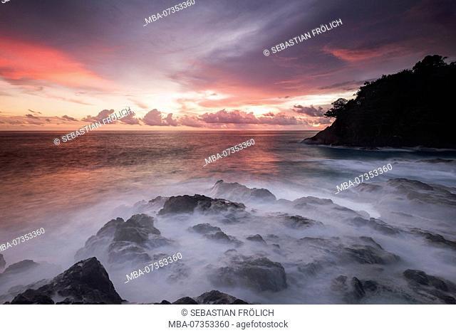 Sunset on Bangkaru, Sumatra