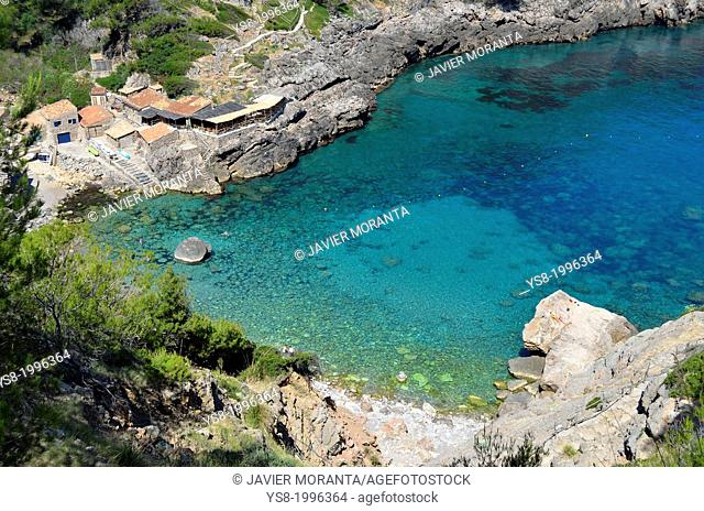 Cala Deia, Mallorca, Balearic Islands, Mediterranean Sea, Spain