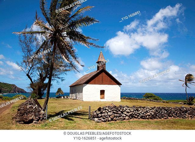 Hui Aloha Church, 1890, Kaupo, Maui, Hawaii