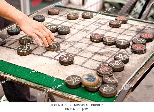 Chinese board game, china, asia