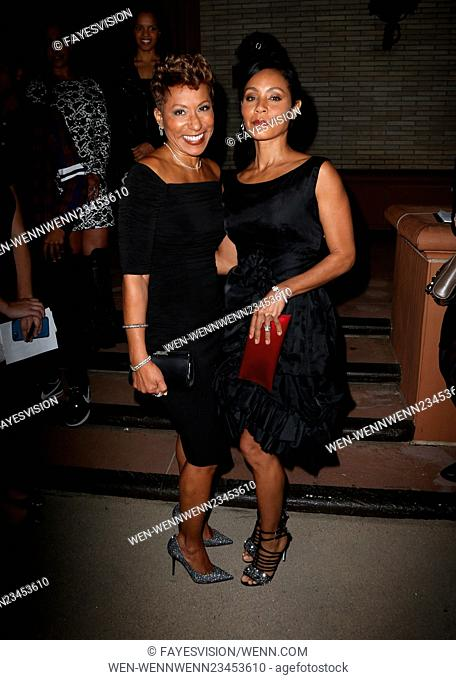 'Freeze Frame' Gala and Architects of Change - Arrivals Featuring: Adrienne Banfield-Jones, Jada Pinkett-Smith Where: Beverly Hills, California