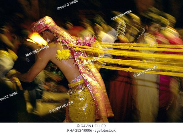 Annual Hindu festival, Thaipusam, Batu Caves, near Kuala Lumpur, Malaysia, Asia