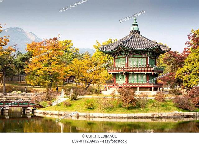 Gyeongbokgung Palace in Autumn