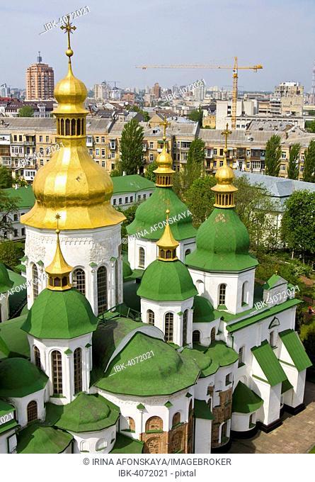 Saint Sophia Cathedral, Sofiyskyi sobor, or sobor Svyatoi Sofii, Kiev, Ukraine