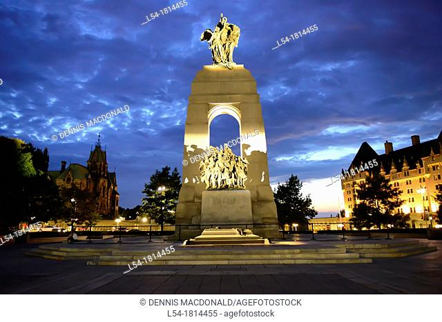 National War Memorial Tomb of Unkonwn Soldier Ottawa Ontario Canada Capital City