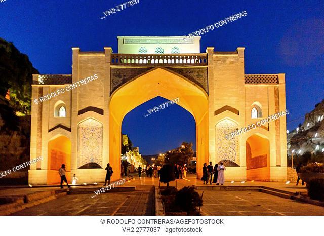 Quran gate, Shiraz