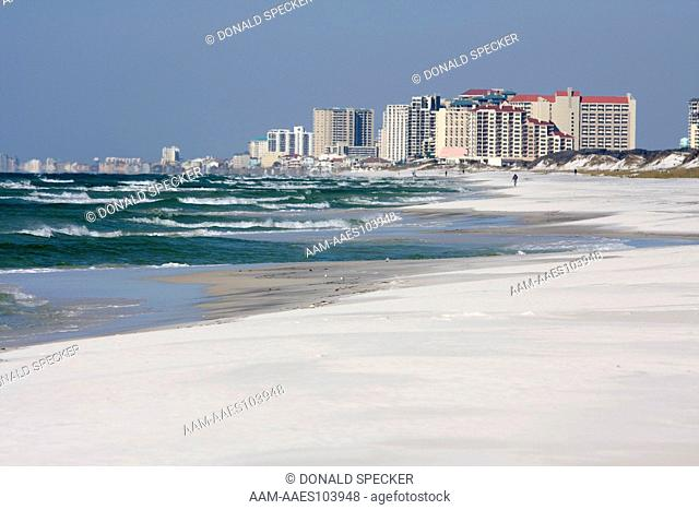 Beachfront development along Florida's gulf coast Destin, FL