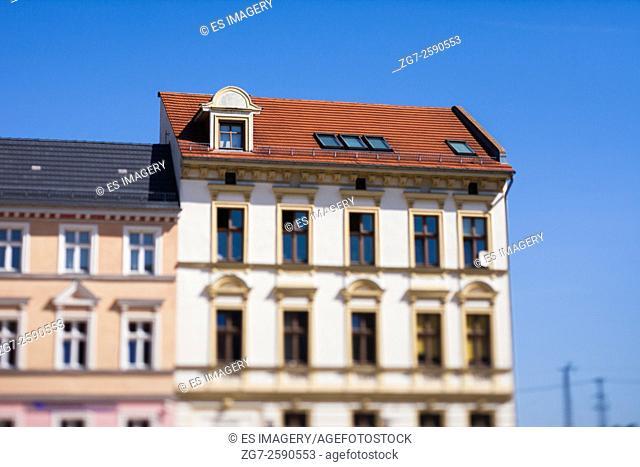 Historic buildings in Frankfurt (Oder)'s Altberesinchen district
