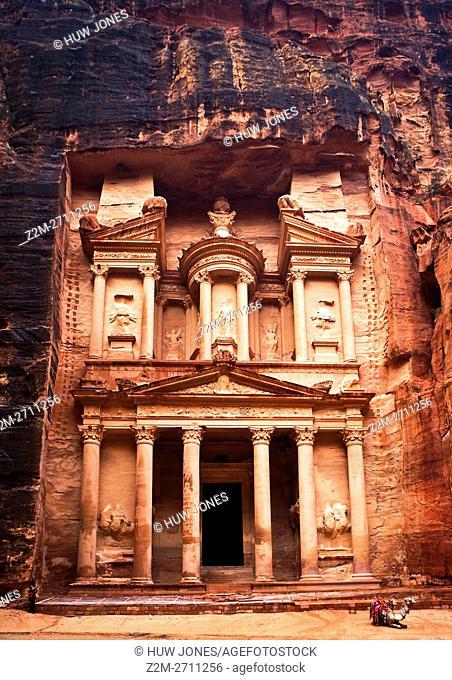 The Treasury, Petra, Jordan, Western Asia