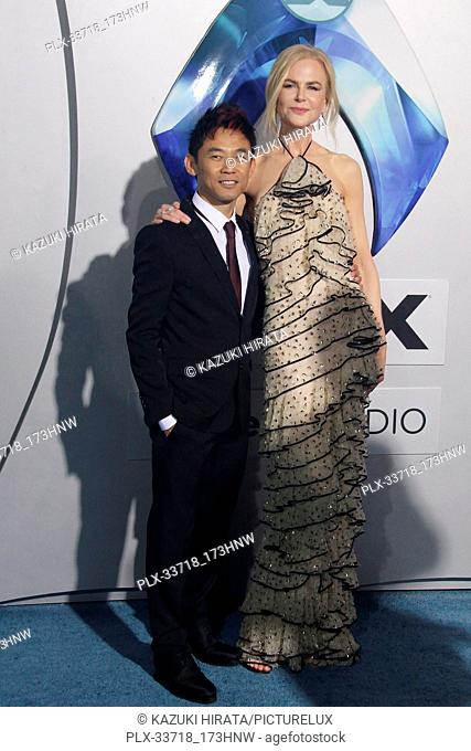 """James Wan, Nicole Kidman 12/12/2018 """"""""Aquaman"""""""" Premiere held at the TCL Chinese Theatre in Hollywood, CA Photo by Kazuki Hirata / HNW / PictureLux"""