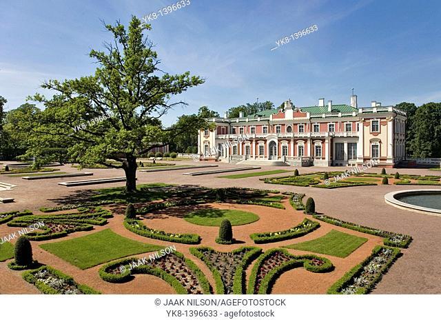 Kadriorg Palace and Garden in Tallinn, Estonia, Europe
