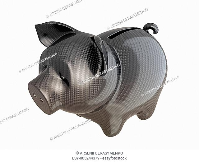 Carbon fiber piggy bank: reliable service