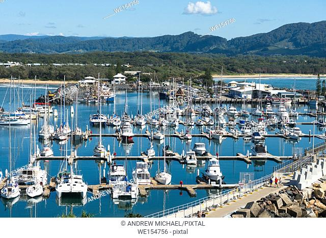 Coffs Harbour Marina, New South Wales, Australia