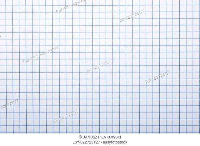 Checkered paper, a background or texture
