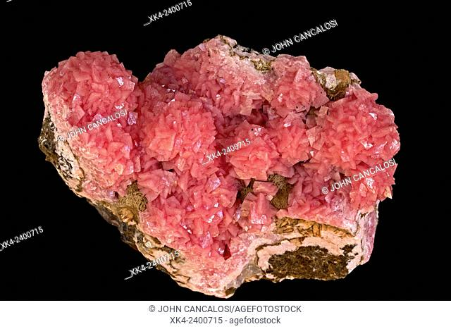 Rhodocrosite, Hutazel mine, South Africa