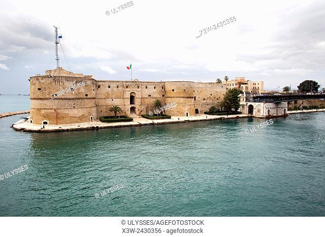 Aragonese castle, Taranto, Puglia, Italy, Europe