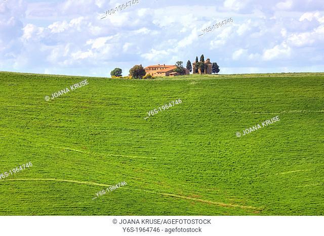 farm house in Val d'Orcia, Pienza, Tuscany, Italy