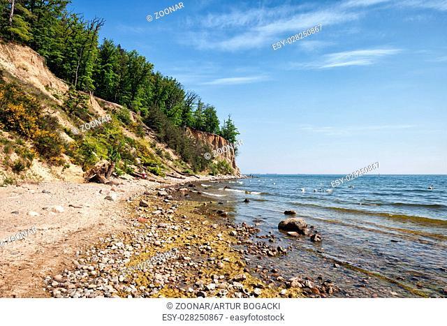 Orlowo Cliff in Gdynia