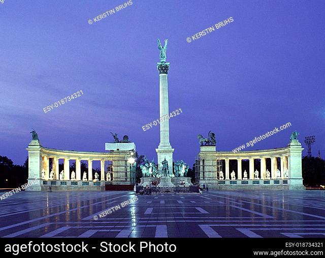 Budapest - Heldenplatz