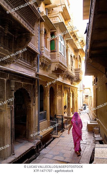 Street scene,Jaisalmer, Rajasthan, India
