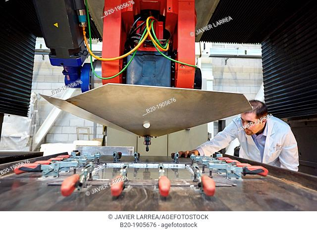ATOM machine  Forming thermally assisted incremental sheet to perform parts for the aviation sector  Industry, Tecnalia Research & innovation
