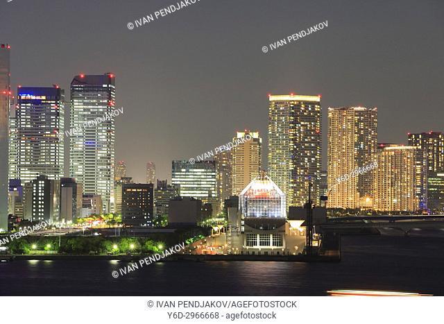 Tokyo Skyline at Night, Japan