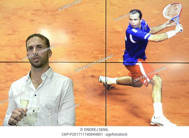 Czech tennis star Radek Stepanek, two-time Davis Cup winner, ended his career at the age of 38 today, on Thursday, November 14, 2017
