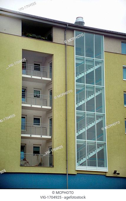 facade of a apartement building - 01/01/2009