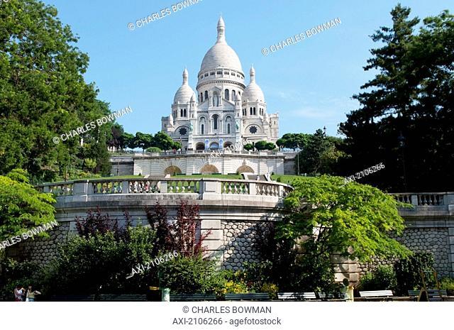 France, Sacre Couer; Paris