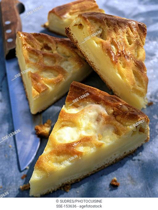 Truffade tart from Aurillac
