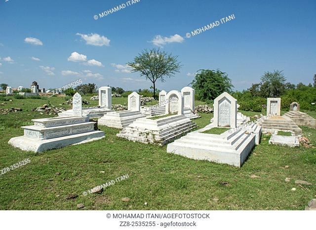 Graveyard for Muslims Jhelum Pakistan