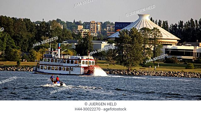 English bay ,Paddle Steamer, Vancouver City , Canada, North America