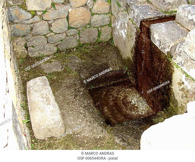 peru natural rocks historical ruins of incas