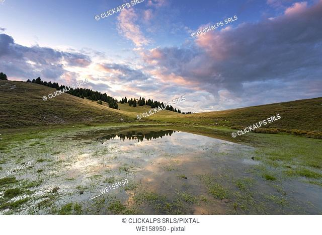 Alpine lake of Vipers