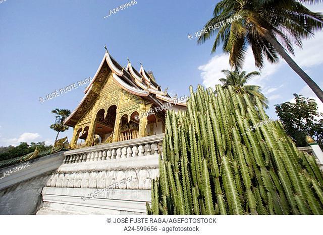 Sala Pha Bang Bldg. Royal Palace Museum. Luang Prabang City (W.H.). Laos. January 2007