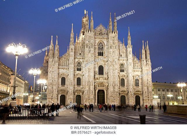 Milan Cathedral or Duomo di Santa Maria nascente
