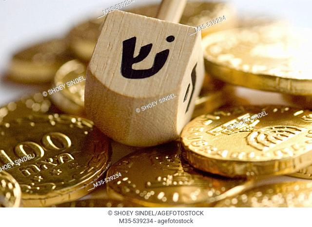 Dreidel is a traditional game played on the Jewish holiday Hanukah