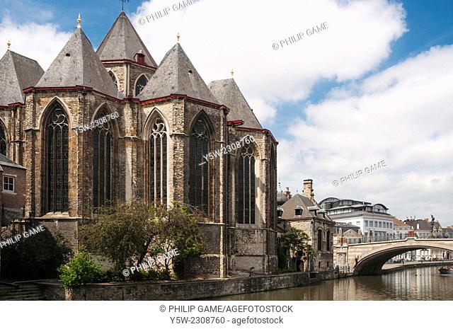 St-Michielskirk, St Michaels Church, Ghent, Belgium
