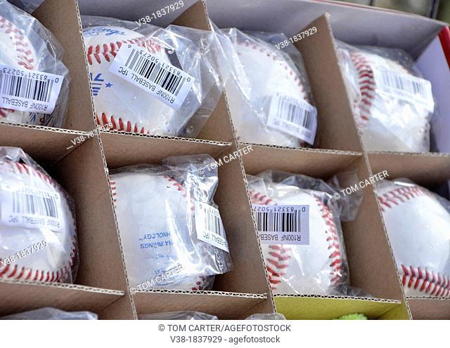 new baseballs
