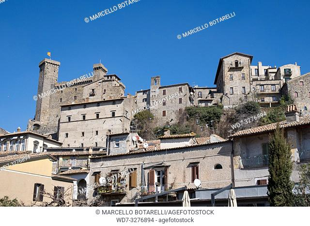 View of Bolsena town, near Bolsena lake, in Lazio, Italy