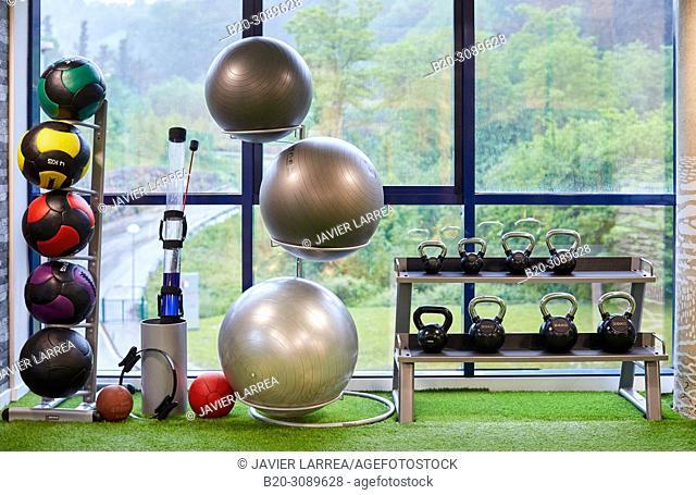 Fitness center, Donostia, San Sebastian, Basque Country, Spain, Europe