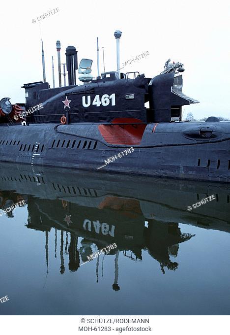 sowjetisches U-Boot U461 von 1962