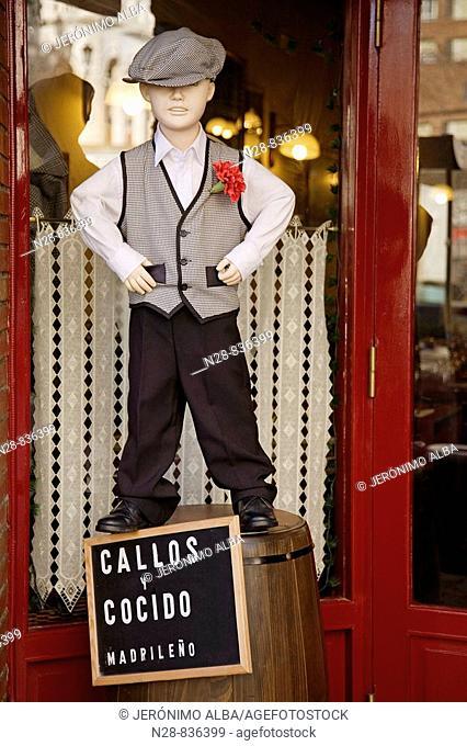 Taberna de Madrid restaurant, Santander, Cantabria, Spain