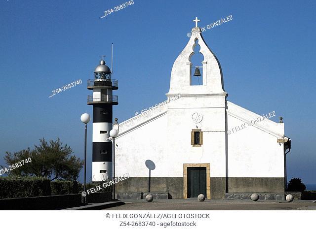 Lighthouse de San Agustin, Ortiguera, Asturias, Spain