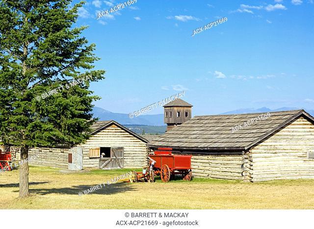 Fort Steele Heritage Town, British Columbia, Canada, historic, prople. wagon