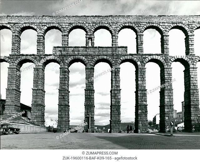 1980 - Segovia, Spain - The Roman Aqueduct. (Credit Image: © Keystone Pictures USA/ZUMAPRESS.com)