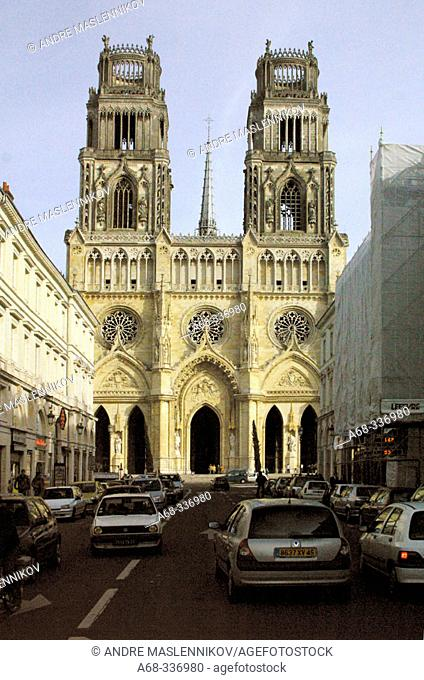 Cathedral Ste-Croix in Orléans. France