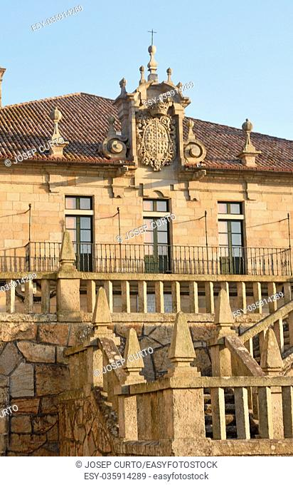 Pazo de Montesacro , Cambados, Pontevedra province, Galicia, Spain,