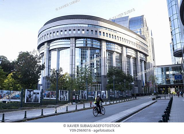 Paul-Henri Spaak Building, European Parliament, Brussels, Belgium