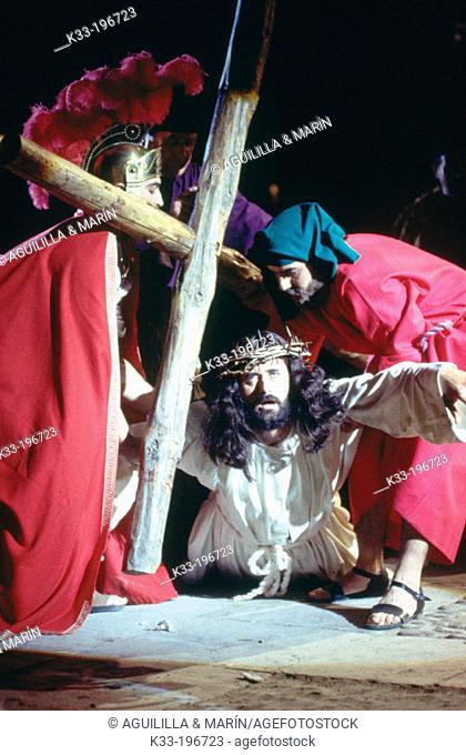 Holy Week. Chinchón. Madrid province. Spain